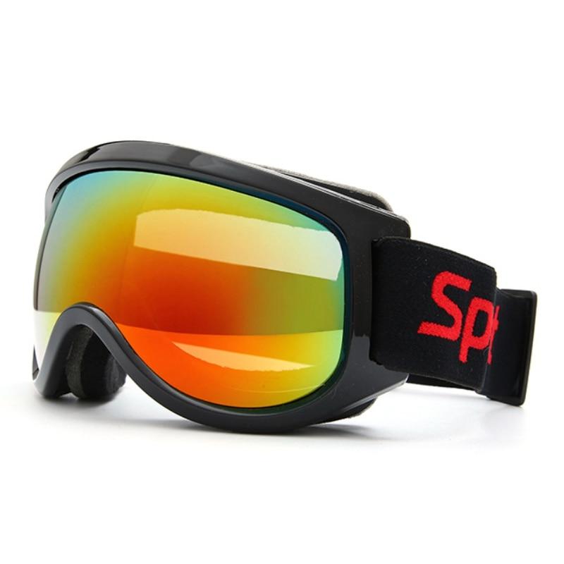 Professional Ski Goggles Anti-fog Big Ski Mask Glasses Windproof Skiing Eyewear  Adult Men Women Snow Snowboard Goggle Newest