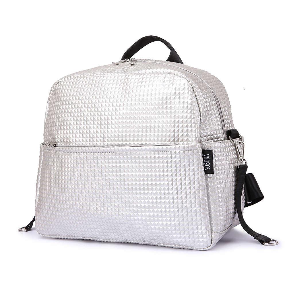 Soboba Mommy сумка для беременных и для подгузников одноцветная модная Большая вместительная женская сумка для ухода за ребенком стильные уличн...