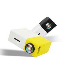Светодиодный аудио проектор 320x240 пикселей USB мини-проектор медиаплеер для домашнего кинотеатра