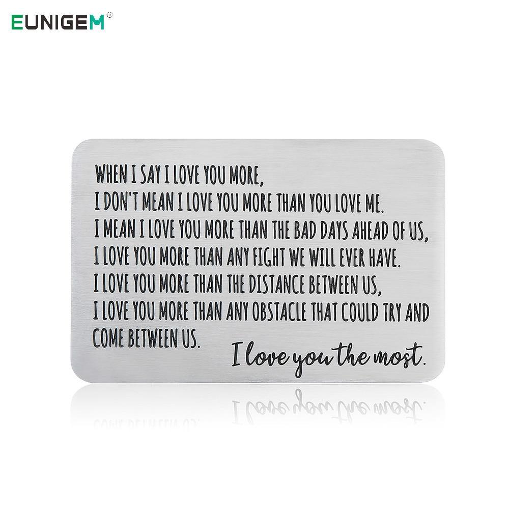 Carta di San Valentino per fidanzato//marito//fidanzata//moglie//Regali di San Valentino per lei 、Carta regalo 、Carta di San Valentino 、Carta di San Valentino per lei 、Carte regalo