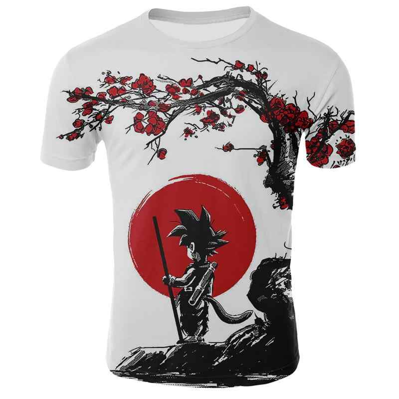 2019 neue männer t-shirt sommer mode Dragon Ball DBZ Bulma Super Saiyan Vegeta 3d druck Kinder t-shirt Japan anime T hemd