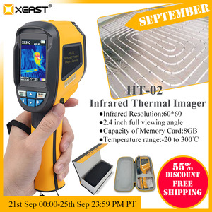 Image 2 - Fast delivery 2.4 inch color handheld infrared thermometer thermometer camera, 3600 pixels 60 * 60 resolution HT 02/HT 175/HT 18