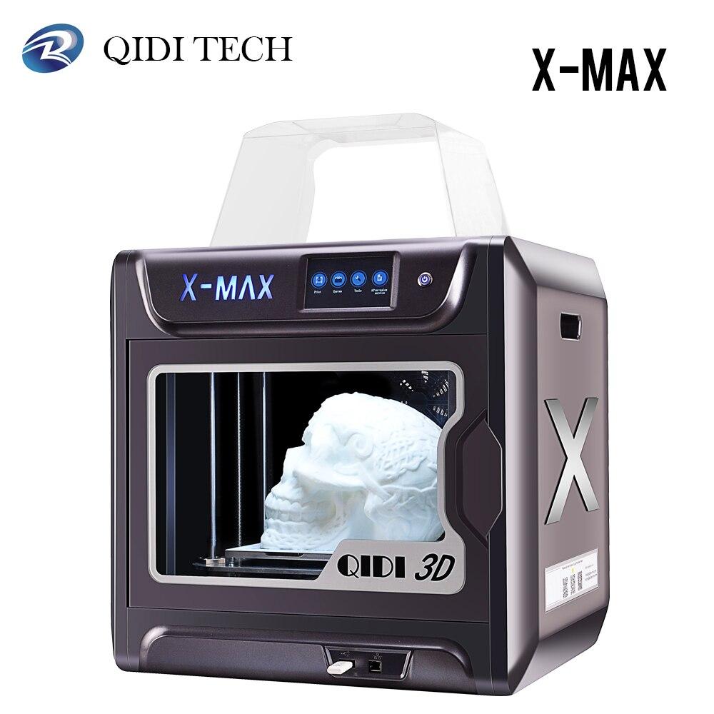 Impresora 3D QIDI TECH X-MAX con extrusora de alta temperatura
