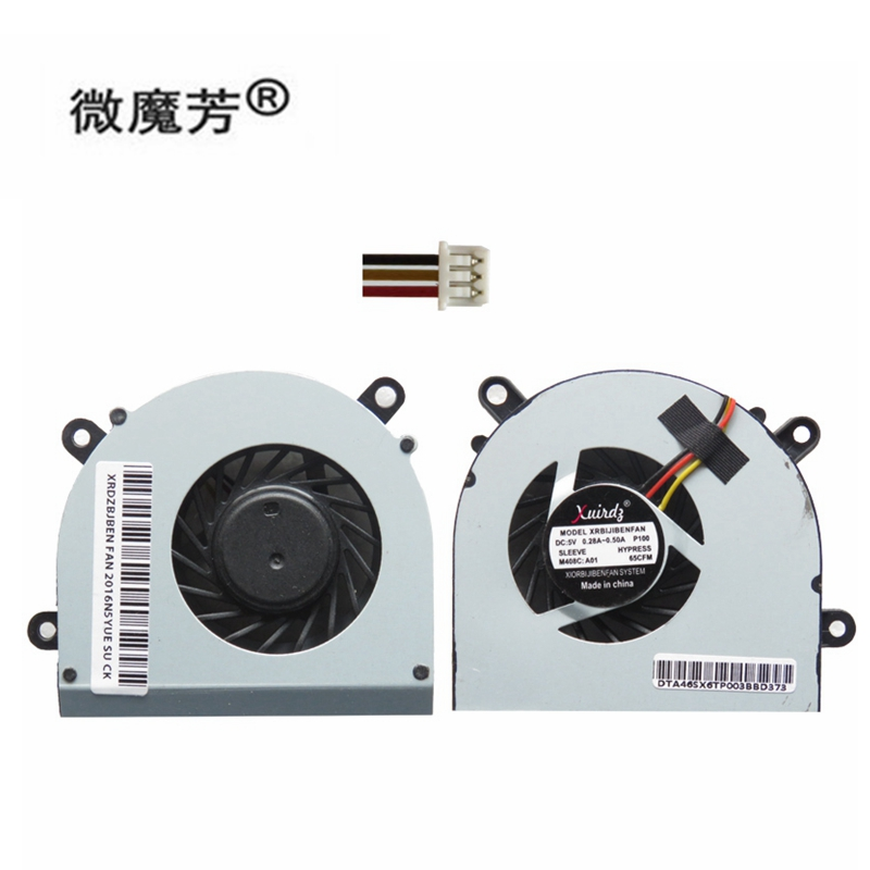 new Laptop cpu cooling fan for <font><b>MSI</b></font> FX600 FX603 FX610 FX610MX FX610DX GP60 CX61 FX620 <font><b>GE620</b></font> 16GH series Laptop Cooler fans image
