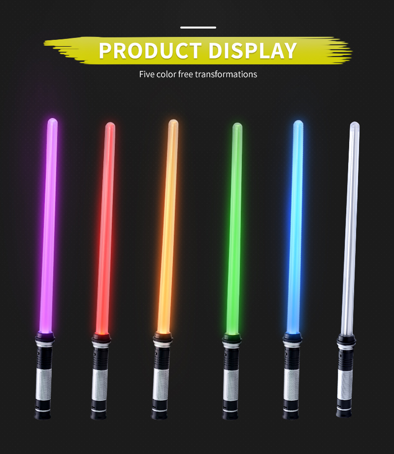 Star Wars Laser Sword Double Sword Combination  Bts Light Stick Toy