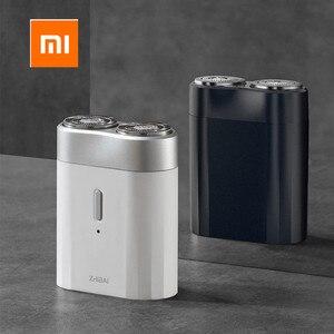 Image 2 - החדש Xiaomi Mijia גברים רטוב/יבש גילוח IPX7 עמיד למים נטענת מיני גוף יפן פלדה גרמנית טכני Moto