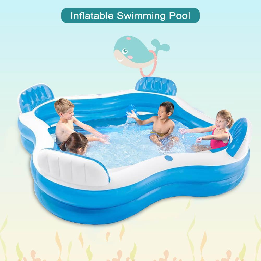 Piscinas Desmomtables Structural Swimming Pool Large Structural Pools Swimming Pools For Family Adult  Inflatable Paddling
