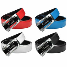 Belt Golf Fashion Automatic-Buckle-Belt Can-Be-Cut Various-Colors-Length New-Style Casual