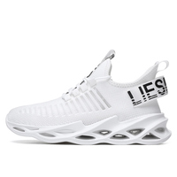 G116 White-Couples Sneakers Casual Breathable Comfortable Sport Running Shoes