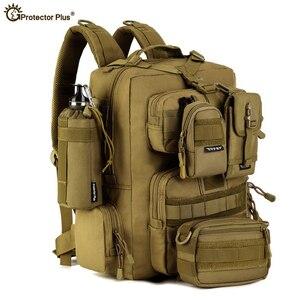 30L mężczyzna/kobieta turystyka torba trekkingowa taktyczna wojskowa plecak armia wodoodporna Molle Bug Out torba Outdoor Travel plecak kempingowy