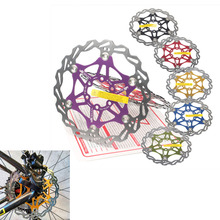 for Snail bike brake rotor disc floating pad MTB hydraulic 160 180 203mm 6 bolts downhill mountain DH CX cycling