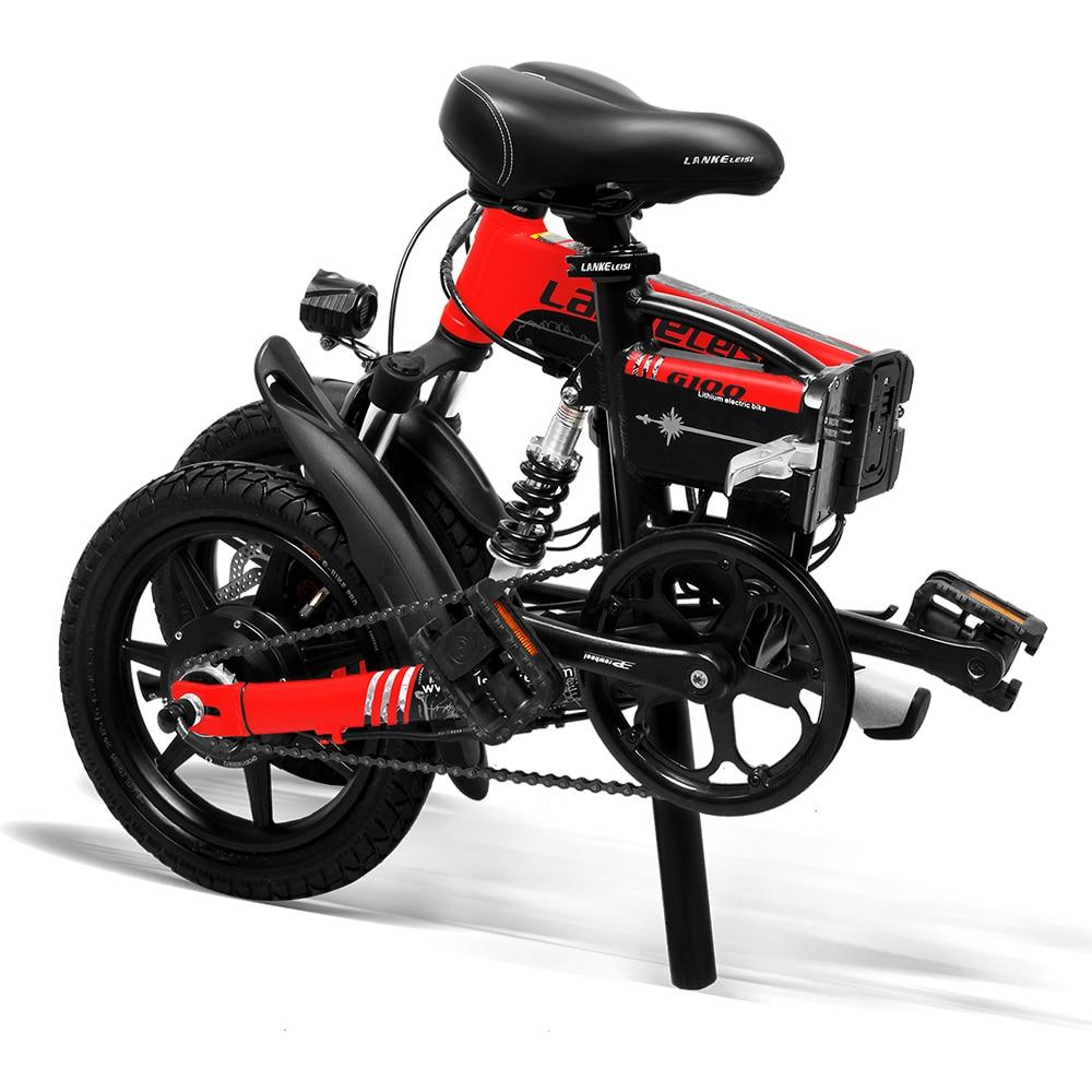 Cyrusher Mini sammenklappelig elektrisk cykel 400W 36V 8,7AH - Cykling - Foto 3