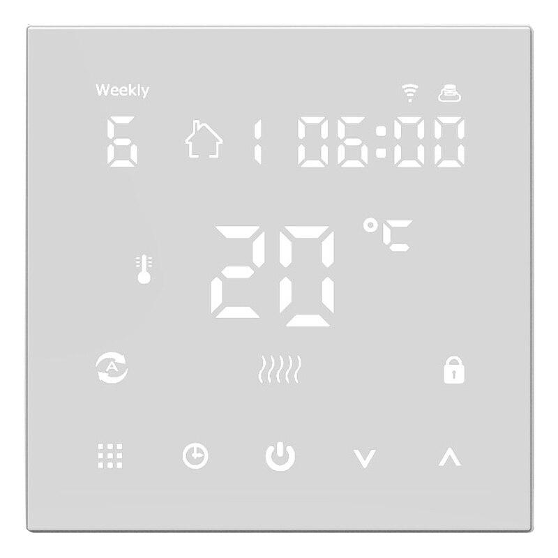 WiFi Thermostat intelligent régulateur de température système de chauffage par le sol électrique Thermostats numérique chauffage électrique par le sol intelligent