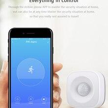 Датчик движения PIR, датчик движения с Wi-Fi, датчик движения Smart Life APP, беспроводная домашняя система безопасности