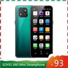 Nieuwe Komen! Originele Soyes X60 Mini Smartphone 3Gb 32Gb 3.5