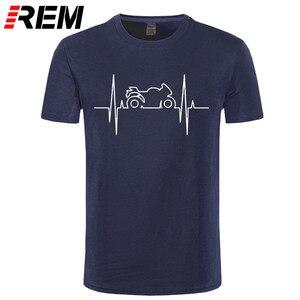 Electromoto heartbeat T shirts