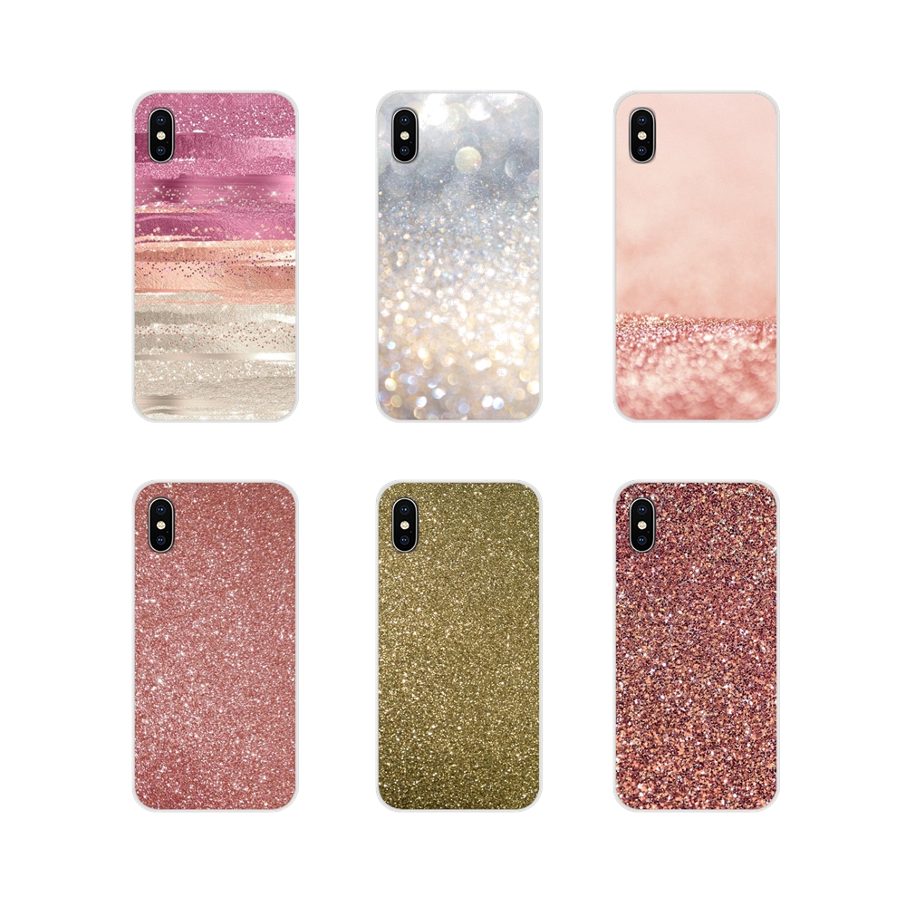 Rose Gold Glitter For <font><b>Meizu</b></font> M2 M3 M5 M6 NOTE M3S M6S <font><b>M6T</b></font> MX6 U20 pro 5 6 plus Accessories Phone <font><b>Cases</b></font> Covers image