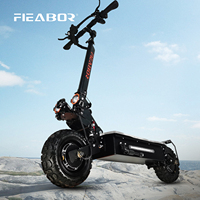 Electric Scooter Adult Dual Motor Patinete Eletrico A Scooter 11inch off Road Tires Fast Speed 60v 5600w 1