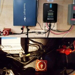 Image 5 - 6010 M 시리즈 DC 12 32V 300 450A 배터리 스위치 아이솔레이터 분리 로터리 이중 회로 스위치 해양 보트 RV 캐러밴 요트 IP67