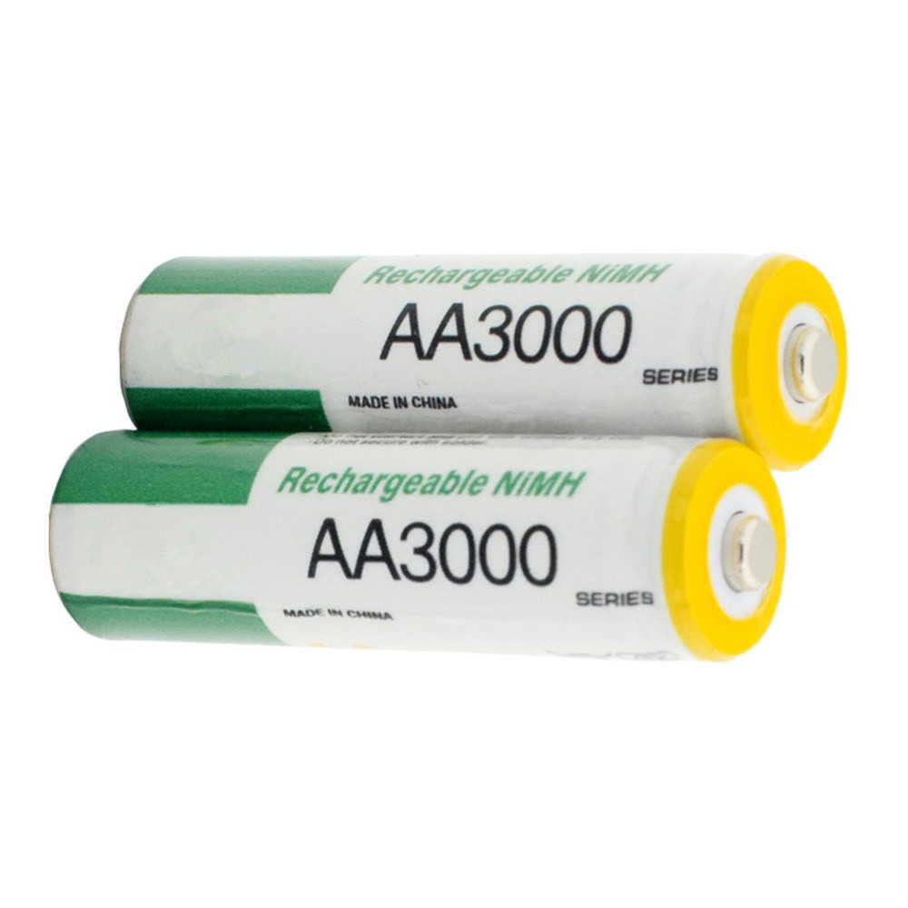 1psc/lot1.2V AA بطارية قابلة للشحن عالية الطاقة ألعاب أطفال 3000mAh AA بطارية قابلة للشحن ni-mh