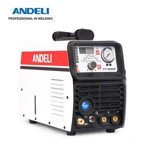 Image 5 - ANDELI الذكية المحمولة مرحلة واحدة آلة لحام CT 520DP 3 في 1 متعددة الوظائف لحام مع قطع/MMA/نبض/ماكينة لحام بغاز التنجستين الخامل آلة لحام