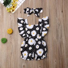 2PCS Outfits Set baby girl clothes Newborn Baby