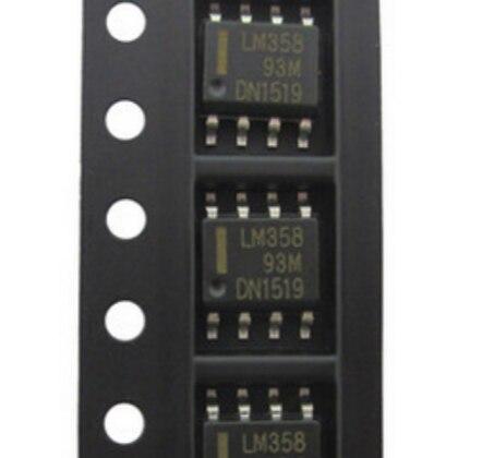 50 шт./лот LM358 LM358DR SOP8 Операционные усилители-Op Amps Dual Low Новый оригинал в наличии