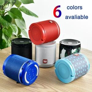 Image 5 - Nieuwe Draagbare Bluetooth Speaker & Telefoon Houder Mini Subwoofer Stof Draadloze Outdoor Parlante 6 Kleuren Ondersteuning Tf kaart USD Schijf