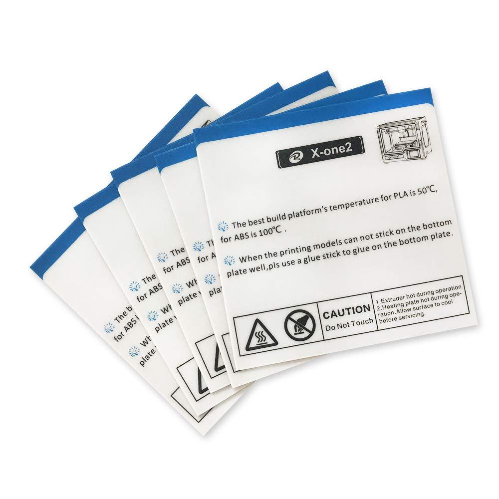 Bed Sticker for QIDI TECH X-MAX 3D Printer 2 pcs kit