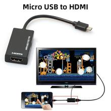 Video-Cable Adapters Hdtv-Converter Micro-Usb To HDMI Audio Type-C for 1080P Laptop PC