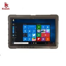 Rugged Windows Tablet 2 in 1 ultrabook Laptop Tablet with keyboard Military Computer Intel Celeron N4100 Processor 4G RAM GPS