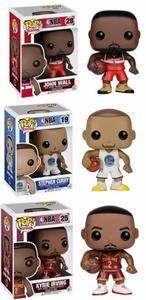 Image 2 - FUNKO POP figuras de estrellas de baloncesto, James, Kobe, Stephen Curry, Kyrie Irving, John Wall, juguete de modelos coleccionables para fanáticos