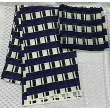 2019 veritable african silk satin fabric wax chiffon print ankara snow spinning breathable 4yards+2yards