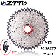 ZTTO 11-40 T 10 Speed Wide Ratio MTB Mountain Bike Bicycle Cassette Sprockets for Parts m590 m6000 m610 m675 m780 X5 X7 X9 ztto 11 40 t 10 speed wide ratio mtb mountain bike bicycle cassette sprockets for parts m590 m6000 m610 m675 m780 x5 x7 x9