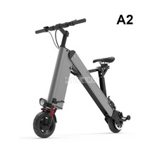 A2 Simple Mini Foldable Electric Scooter Portable Smart City Walking Tool Mobility Scooter Electric Bicycle Mileage 25-30KM недорого