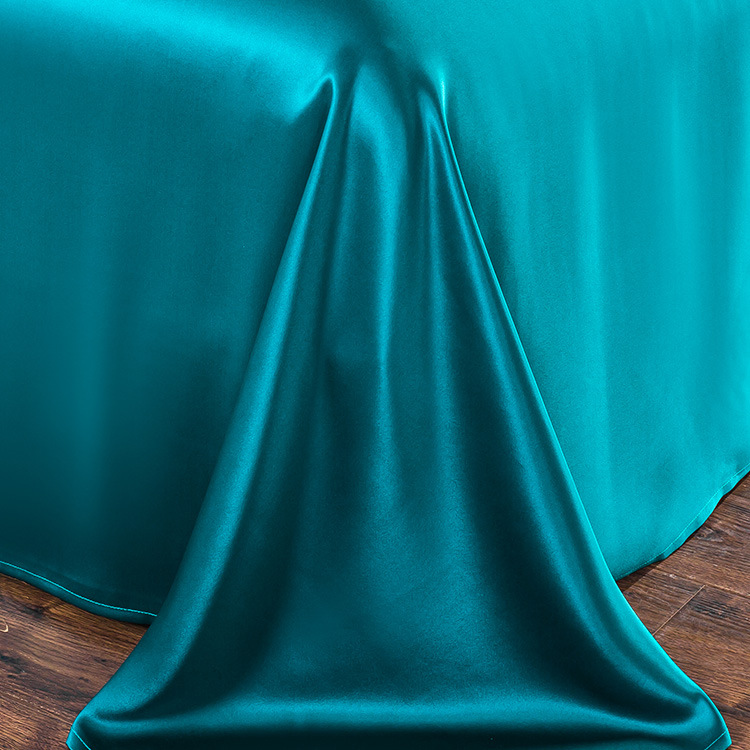 Pure 19mm Wide Silk Crepe Satin Silk Fabric 280 Width 100% Mulberry Silk Four-piece Bedding Fabric Pure Silk For Bedding Textile