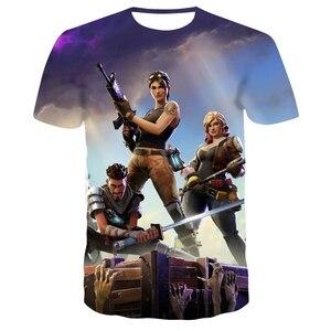 2020 New T Shirt Battle Royale Gaming Men Women T-Shirt Cartoon Cute Summer Tee Short Sleeve 3D print fortniter Children Tshirts