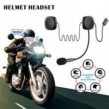Стерео Hands Free для мотоцикла передача легко управляемые наушники подарок совместимы с говорящим шлемом гарнитура Bluetooth наушники