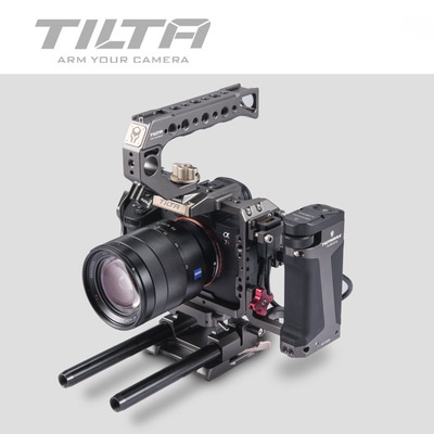 Image 4 - Tilta TA T17 A G Rig Cage For Sony A7II A7III A7S A7S II A7R II A7R IV A9 Rig Cage For SONY A7/A9 series Tiltaing VS Smallring-in Photo Studio Accessories from Consumer Electronics
