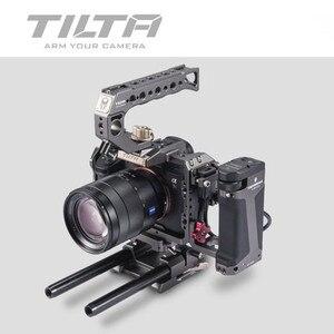 Image 5 - Tilta TA T17 A G Rig Cage For Sony A7II A7III A7S A7S II A7R II A7R IV A9 Rig Cage For SONY A7/A9 series Tiltaing VS Smallring