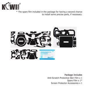 Image 5 - Kiwi Chống Trầy Xước Bao Da Máy Ảnh Da Bảo Vệ Cho Máy Ảnh Panasonic Lumix DC GH5 GH5 Camera Chống Trượt 3M miếng Dán Vân Carbon Phim