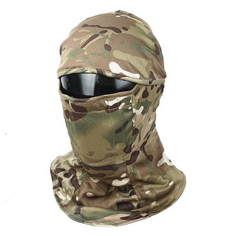 TMC Hunting Accessories Tactical Camouflage Head Cover Airsoft Mask Sunscreen Dust-proof Full-wrapped Headscarf Free Shipping