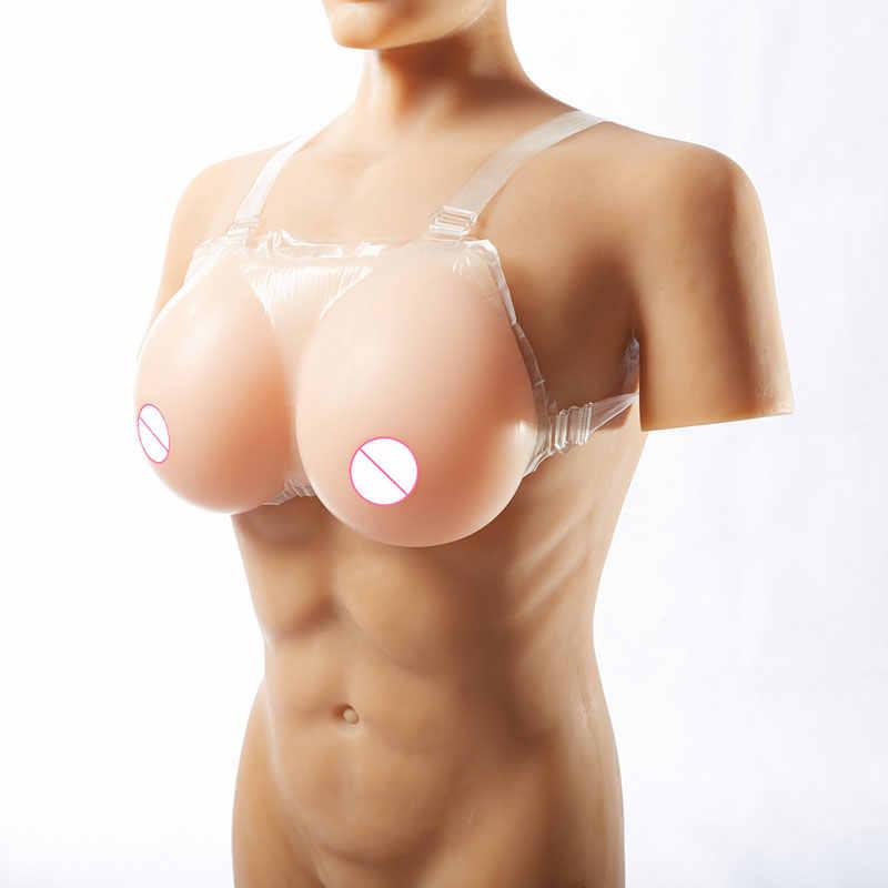 Seios falsos de silicone realista, seios falsos de silicone para crossdresser, travestis, transgêneros, mastectomy