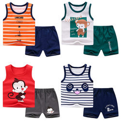 Summer Child Baby Boy Clothes Children Clothing Set for Girls Kids T-Shirt Shorts 2PCS Outfits Cotton Casual Clothes Child