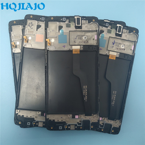 10PCS AMOLED Display For Samsung galaxy A10 lcd Digitizer A105/DS A105F A105FD A105M Display Touch Screen Digitizer With Frame