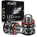 2 шт. H8 H9 H11 светодиодный руководитель проекта светильник 9006 HB4 9005 HB3 автомобиль лампа Светодиодный лампочки Canbus 15000LM 50W фары для автомобиля, во...