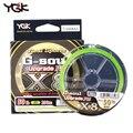 Angelschnur Japan Importiert Raw Garn YGK G seele X8 Glatte Tragen Beständig 150/200 Meter PE Linie Weben Wichtigsten linie Fisch Linie Angelschnüre Sport und Unterhaltung -