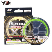 цена на Fishing Line Japan Imported Raw Yarn YGK G-soul X8 Smooth Wear Resistant 150/200 Meters PE Line Weaving Main line Fish Line
