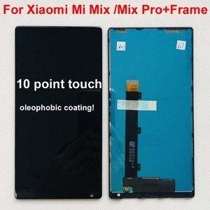 """Image 2 - 100% oryginalny dla 6.4 """"Xiaomi Mi Mix /Mi Mix Pro 18k wersja ekran wyświetlacz LCD + Digitizer Panel dotykowy rama dla MI Mix wyświetlacz"""