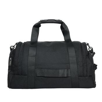 TRAVEL TALE Ballistic Nylon Sports Gym Bags Multifunction Handbag Shoulder Travel Bag With Shoes Bags